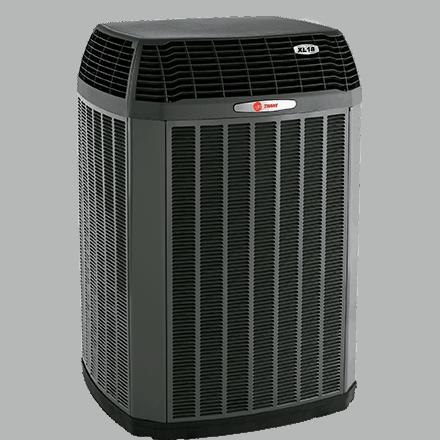 Trane XL18i heat pump.