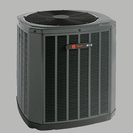 Trane XR15 heat pump.