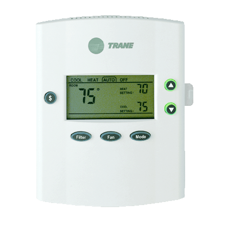 Trane XB200 thermostat.