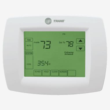 Trane XL803 thermostat.